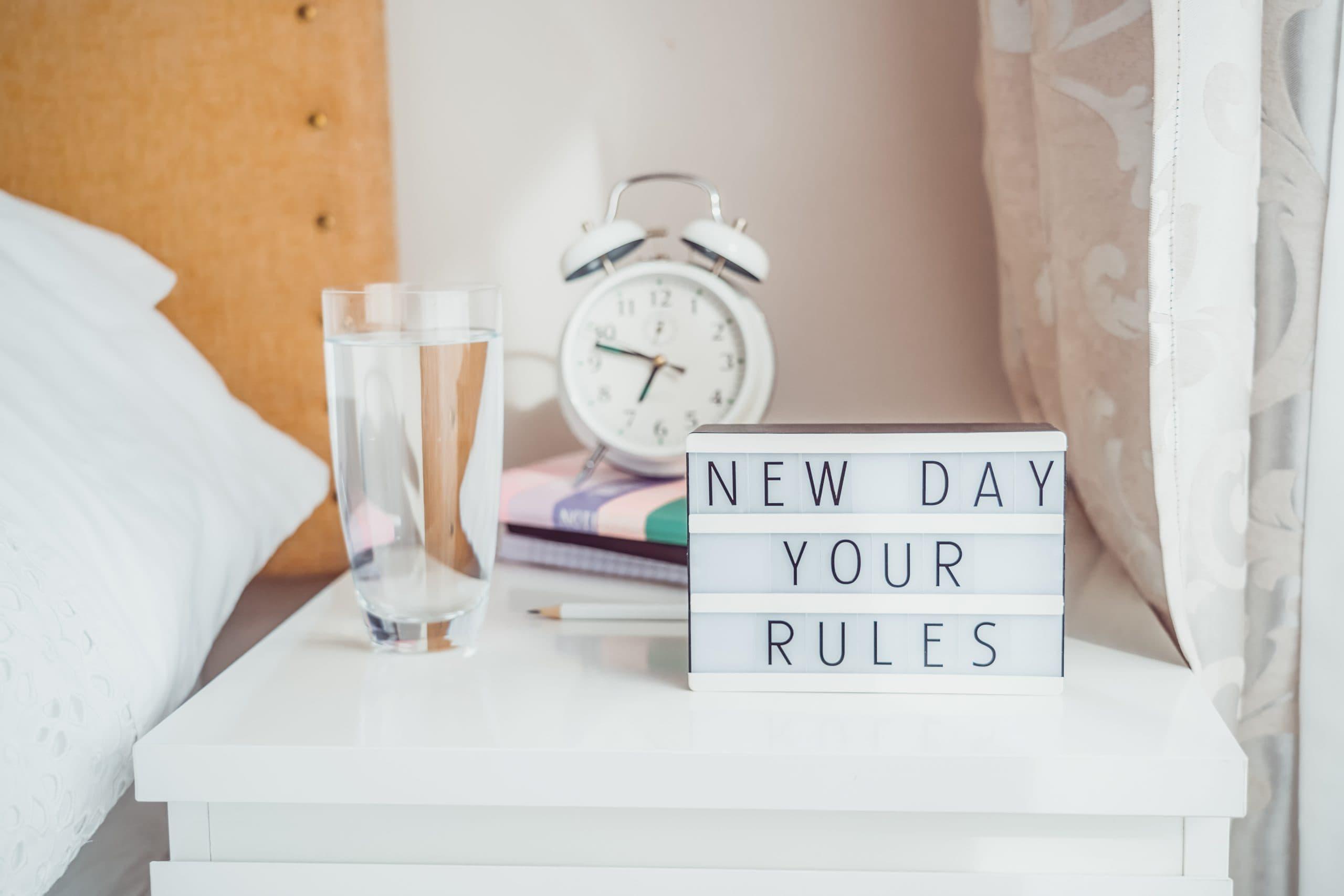 Хороший ранок починається з хороших звичок
